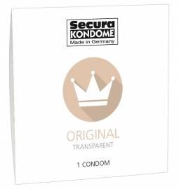 Secura kondómy Original 1 ks