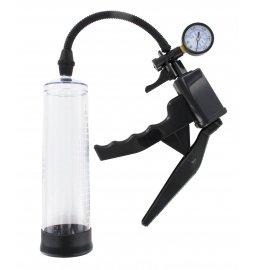 BASIC X Pištoľ vákuová pumpa s manometrom