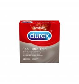 DUREX kondómy Feel Ultra Thin 3 ks