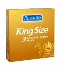 Pasante kondómy King Size 60 mm - 3 ks