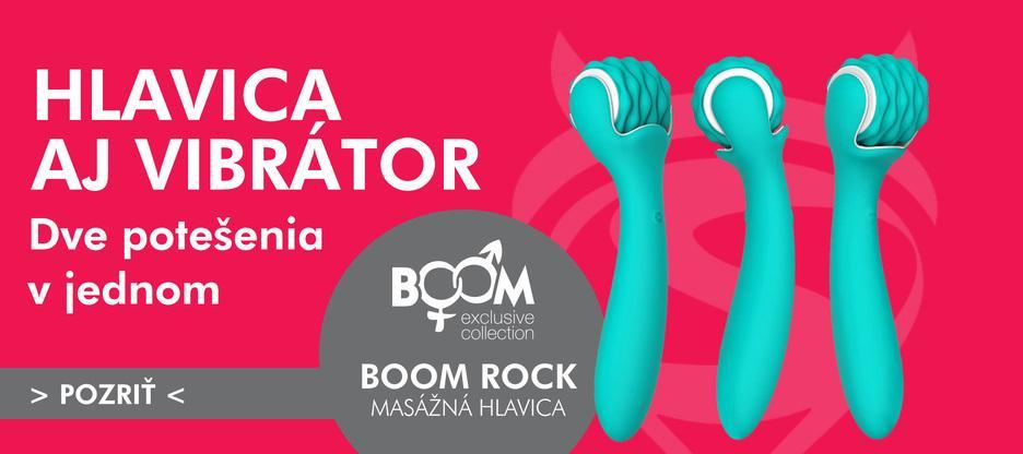 NOVINKA ⭐ Masážna hlavica BOOM ROCK 2v1